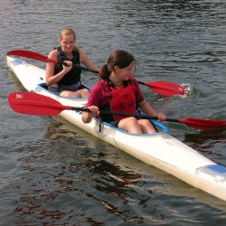 Girls D paddlers 1st Sprint Regatta