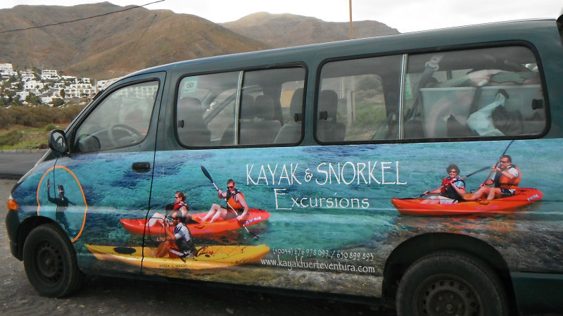 Fuerteventura Kayaks Mini Bus