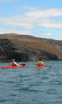 Sea Kayaks near Giniginimar