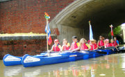 School Children enjoying Bell Boating