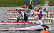 200m canoe kayak sprint start