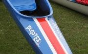 Racing Kayak close up