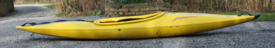 Kayak showing rocker