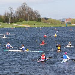 Kayak Sprint Warm up Area
