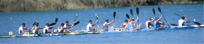 Racing Kayaks, fast and challenging, sprint or marathon