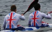 Junior GB athletes WIlliam Bird & Jack Childerstone