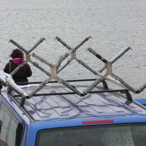 5 set of V Bars fro 5 racing kayaks