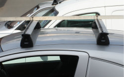 Wide bars for roof rack