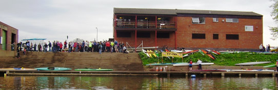 Worcester Canoe Club local race day