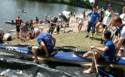 Funday at Worcester Canoe Club