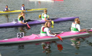 Young paddlers ready to race