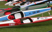 Racing K1s on display