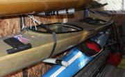 kayaks on racks