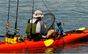 Rec Fishing Kayak with all the gear