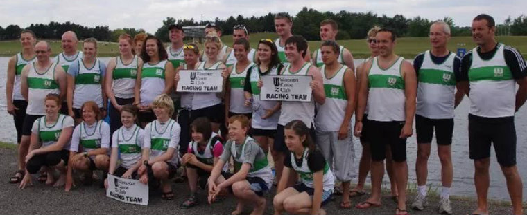 Worcester Canoe Club Sprint Racing Team