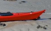 stern of sea kayak